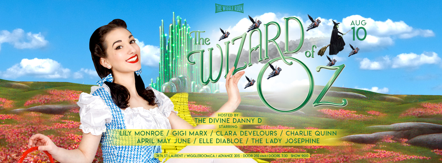 Wizard of Oz Burlesque Banner