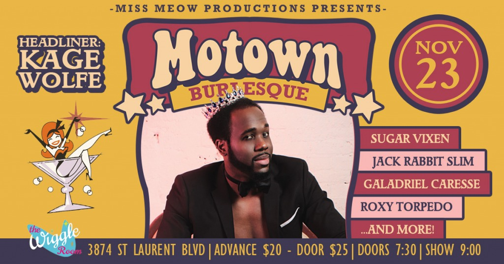 Mowtown Burlesque Banner