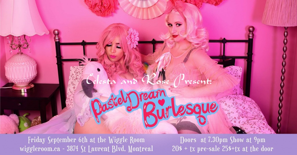 Pastel Dreams Burlesque Banner